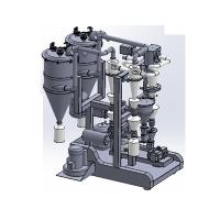 实验室设备-PQW 100 实验型 双分级气流磨